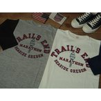 WARE HOUSE Lot 4800 B/B T-SHIRTS [TRAILS END] / ウエアハウス 7分袖ベースボール T‐シャツ