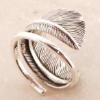 イーグルフェザー シルバーリング リング 指輪 サイズ 人気 おすすめ ブランド プレゼント シンプル メンズ レディース 送料無料