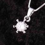 ネックレス レディース ブランド シンプル デザイン 人気 ファッション チェーン プチプラ シルバー 925 一粒石 ネックレス