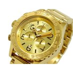 ニクソン NIXON 腕時計 42-20 CHRONO A037-502 ALL GOLD A037502