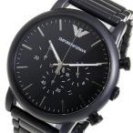 エンポリオ アルマーニ ルイージ クオーツ クロノ メンズ 腕時計 ブラック AR1895