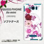 303SH スマホカバー AQUOS PHONE Xx mini  TPU ソフトケース 116 6月のバラ