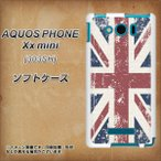 303SH スマホカバー AQUOS PHONE Xx mini  TPU ソフトケース 506 ユニオンジャック-ビンテージ