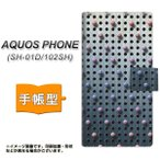 SH-01D アクオスフォン AQUOS PHONE 手帳型 スマホカバー YA926 dot02