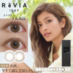 レヴィアワンデーカラー ReVIA Color 1day 度あり 度なし カラコン 4箱 10枚入り 1日使い捨て ワンデー ローラ