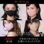 KATE ケイトマスク II 選べる9色 2枚入り Kanebo カネボウ 洗って繰り返し使える 耳が痛くなりにくい 吸水速乾 立体マスク形状