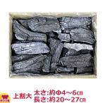 ベトナム備長炭 上割大 15kg入(太さ:約Φ4〜6cm、長さ:約20〜27cm)(送料無料、代引不可)