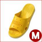 303 ジュニアフィッティングサンダル イエロー M 22.5cm 子ども キッズ スリッパ トイレ 水場