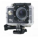 4K高画質 アクション カメラ スポーツ 4K 16M WiFi対応 アクションカメラ 800万画素 GoPro HERO4を超える性能 ブラック(黒色)