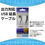 話題のスマホアプリにお勧め! USBケーブル 延長用 2m クールモバイルカンパニー