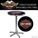 ショッピングハーレーダビッドソン ハーレーダビッドソン HARLEY-DAVIDSON BAR & SHIELD CAFE TABLE カフェテーブル HDL-12314