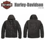 ジャケット HARLEY-DAVIDSON ハーレーダビッドソン 正規品 GRIND HOODED WORKWEAR JACKET 97429-18VM (Sサイズ)