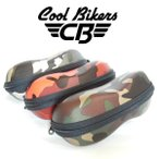 【3カラー】クールバイカーズ サングラスケース COOLBIKERS オリジナル ケース camouflage 迷彩