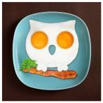 スカル&オウル エッグモールド 目玉焼き 型 リング ブランド FRED フレッド FUNNY SIDE UP SKULL OWL EGG CORRAL シリコンモールド 調理器具 EGG-MOLD-OWL