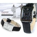 FOREVER フォーエバー メンズ ウォッチ シェル文字盤 腕時計 FG-330SI