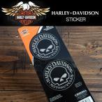 ハーレーダビッドソン Harley-Davidson オフィシャルステッカー MOTORCYCLES スカル2枚組 HD-STICKER-2-Skull