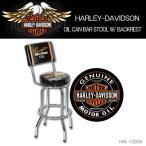 ショッピングハーレーダビッドソン ハーレーダビッドソン HARLEY-DAVIDSON OIL CAN BAR STOOL W/ BACKRESTオイルカン バースツール(バックレスト付き) HDL-12203