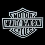 ショッピングハーレーダビッドソン ハーレーダビッドソン Harley-Davidson ロゴ 白文字抜きステッカー HD-LOGO-STICKER