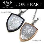 ショッピングLION [ライオンハート] LION HEART ペアライン エンブレムペンダント ネックレス04N151SM/04N151SL