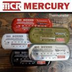 SALE アウトレット 特価品 訳あり Mercury マーキュリー Thermometer サーモメーター ワイド ヨコ型 温度計