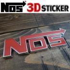 NOS ニトロ アメリカン雑貨 ワイルドスピード 3D STICKER ステッカー 立体シール