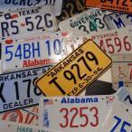 【本物】USED アメリカで実際に使われていたUSEDナンバープレート Number Plate