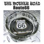 Route66 アシュトレイ ラウンド ルートサイン THE MOTHER ROAD 灰皿