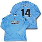 【カッパ】2001/02フェイエノールト UEFAカップ用・アウェイ #14・小野伸二 長袖ユニフォーム