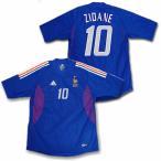 2002/04フランス代表 ホーム・オーセンティックモデル #10・ジネディーヌ・ジダン 半袖ユニフォーム