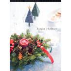 クリスマスリース キャンドルアレンジ 生のモミと赤いキャンドルのクリスマスアレンジ