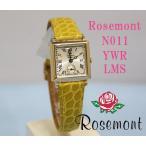 Rosemont Nostalgia ロゼモン ノスタルジア N011-YWR-LMS マスタード 本ワニ革ベルト 送料無料
