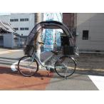 ママチャリ自転車、チャイルドシートのカバーに雨除け、日除け 一般、電動アシスト自転車の通勤、通学の屋根!ギャラクシーBi