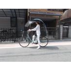 自転車の屋根、ルーフが雨除け、風除けパーツが電動自転車(電動用、2重フル)ニューギャラFU
