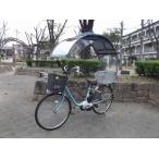 自転車に屋根、さすべえも傘もポンチョもレインコートも不要(普通用、2重フル)ニューギャラGDU