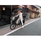 20インチ、3人乗り電動自転車にオシャレな 用品 、子供乗せプテットギュットバビーUVZ
