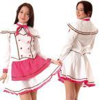 コスプレ 衣装 HARAJUKU系ギャル PC010422ホワイト×ピンク