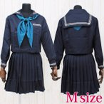 ショッピングコスプレ コスプレ 学生服 インターナショナルスクールのセーラー服(冬服) M AO3040M