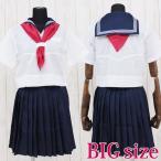 ショッピングコスプレ コスプレ 学生服 ミッション系中高一貫校のセーラー服(夏服) BIG AO3041B