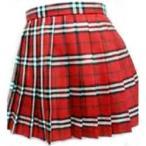 ミニスカート wsk-06b チェック柄 プリーツ スカート