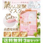 【送料無料☆3箱セット】SHUWABON ディープ炭酸蒸らしマスク(2回分) シュワボン シュアワ SHUAWA/高濃度炭酸マスク/シートパック/シートマスク