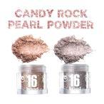 16brand 16ブランド 16BRAND CANDY ROCK PEARL 16キャンディロックペールパウダー POWDER アイシャドウ・グリッター・ハイライト・リップにも