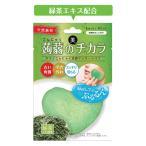 ドライ蒟蒻洗顔マッサージパフ 緑茶 蒟蒻 こんにゃく