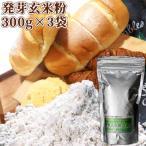 【5%還元】大分県産 発芽玄米粉(生) 900g(300g×3袋) スタリオン日田 送料無料