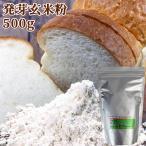 大分県産有機肥料栽培玄米使用 発芽全粒玄米粉(生) 500g パンやパンケーキなど小麦粉や米粉の代わりに スタリオン日田