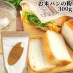 無添加&グルテンフリー お米パンの粉 300g 製パン用米粉 小麦グルテン&アレルゲン不使用 九州産米粉100% 村ネットワーク