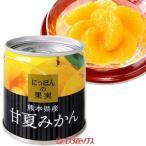 国分 K&K にっぽんの果実 熊本県産 甘夏みかん 固形量110g(内容総量185g)