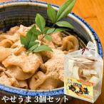 おおいた郷土料理 やせうま 乾麺 3袋セット (1袋あたり 麺80g/きな粉15g×3) 由布製麺【送料無料】