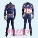 アベンジャーズ3 シビルウォー キャプテンアメリカ 大人 コスチューム キャプテンアメリカ コスプレ衣装