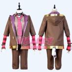 夢王国と眠れる100人の王子様 チェシャ猫 コスプレ 衣装 夢100 不思議の国 チェシャ猫 王子様 コスプレ 衣装