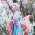 Fate/Grand Order コスプレ 概念礼装 いろはにほへと 着物 マシュ・キリエライト コスプレ 衣装 FGO コスプレ